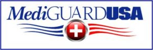 Mediguard logo  Personal Medical Emergency alert systems. Omaha, NE
