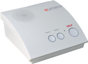 Numera home base station. Medical Emergency alert system